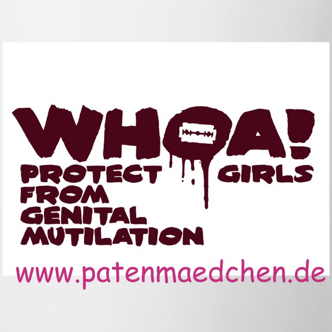 Whoa! Protect girls from Genital Mutilation