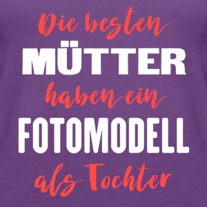 Fotomodell Tops - Frauen Premium Tank Top