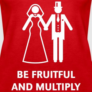 Be Fruitful And Multiply (Stag Party / Hen Night) Tops - Women's Premium Tank Top