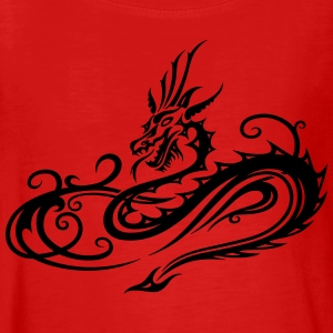 Dragon with infinity symbol - Teenagers' Premium Longsleeve Shirt