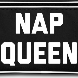 Nap Queen Funny Quote Bags & Backpacks - Retro Bag