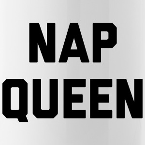 Nap Queen Funny Quote Mugs & Drinkware - Water Bottle