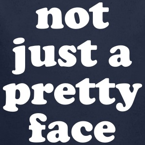 Not just a pretty face Babybody - Økologisk langermet baby-body