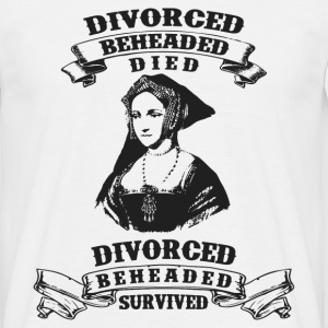 Six Wives of Henry VIII - Männer T-Shirt