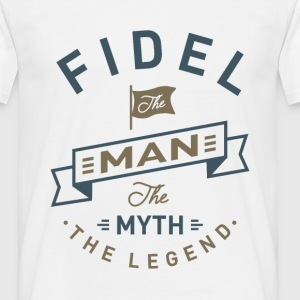 Fidel The Man - Men's T-Shirt