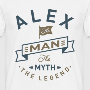 Alex The Man - Men's T-Shirt
