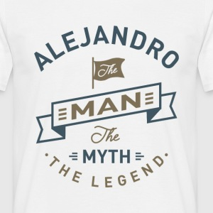 Alejandro The Man - Men's T-Shirt