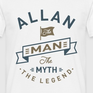 Allan The Man - Men's T-Shirt