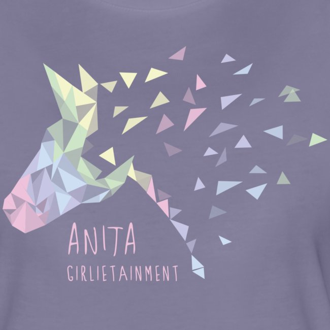 Anita Girlietainment Pastell Rainbow Shirt