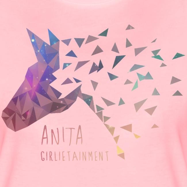 Anita Girlietainment GALAXY Einhorn - Shirt