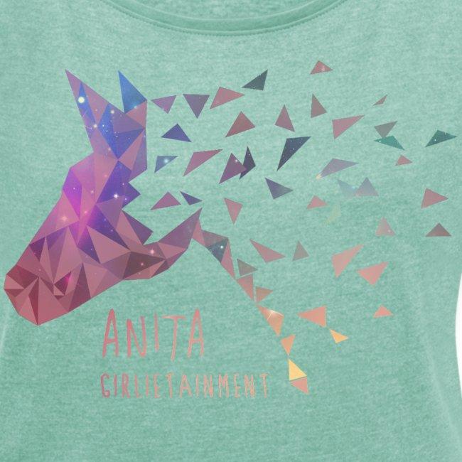Anita Girlietainment GALAXY Einhorn - lockeres Shirt