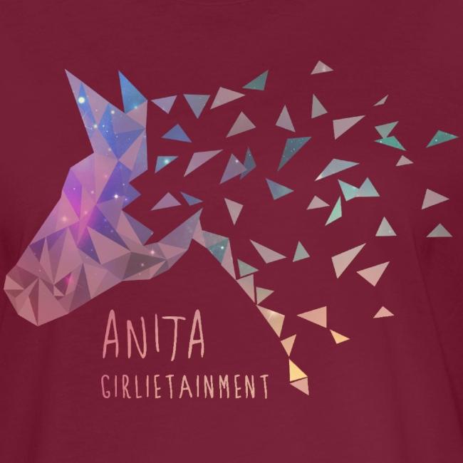 Anita Girlietainment GALAXY Einhorn - TShirt