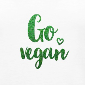 go_vegan Tops - Frauen Premium Tank Top