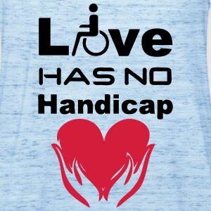 Love has no Handicap Tops - Frauen Tank Top von Bella