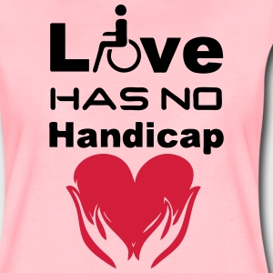 Love has no Handicap T-Shirts - Women's Premium T-Shirt