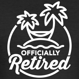 Officially retired T-Shirts - Men's Slim Fit T-Shirt