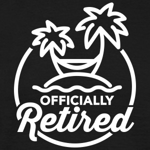 Officially retired T-Shirts - Männer T-Shirt