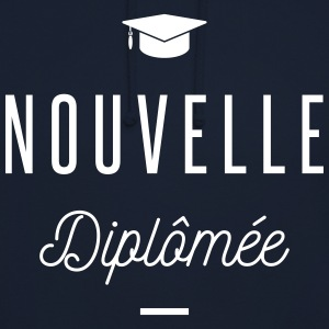 nouvelle diplomée Sweat-shirts - Sweat-shirt à capuche unisexe