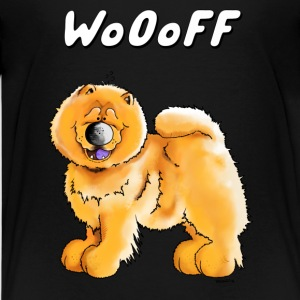 Wooff Chow Chow T-Shirts - Teenager Premium T-Shirt