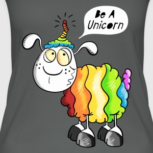 Be a Unicorn Schaf Tops - Frauen Bio Tank Top