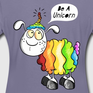 Be a Unicorn Schaf T-Shirts - Frauen Premium T-Shirt