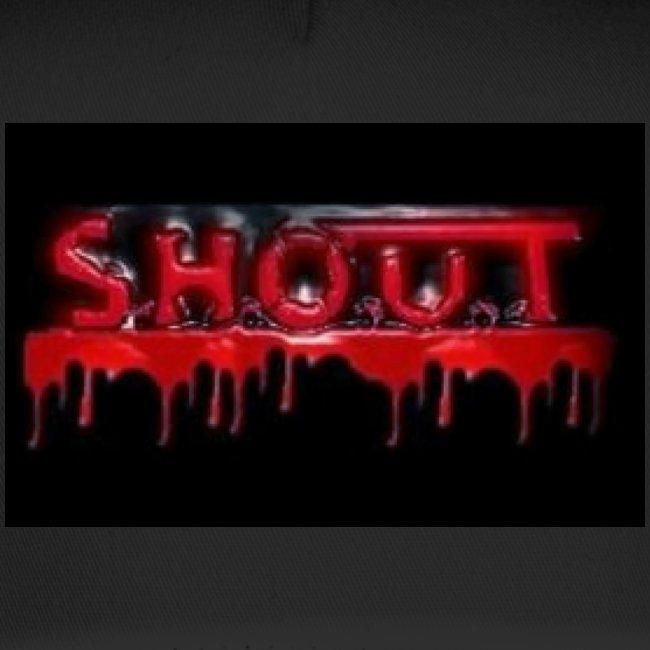 S.H.O.U.T - Blood Logo