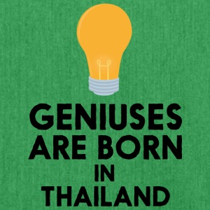 Geniuses are born in THAILAND S256x Bags & Backpacks - Shoulder Bag made from recycled material