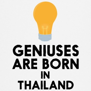 Geniuses are born in THAILAND S256x Baby Long Sleeve Shirts - Baby Long Sleeve T-Shirt