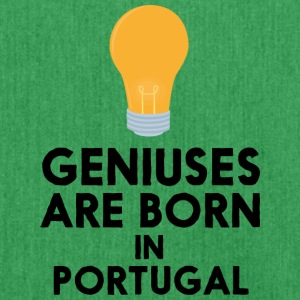 Geniuses are born in PORTUGAL S2ay2 Bags & Backpacks - Shoulder Bag made from recycled material