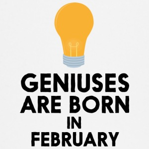 Geniuses are born in FEBRUARY S7ovs Baby Long Sleeve Shirts - Baby Long Sleeve T-Shirt