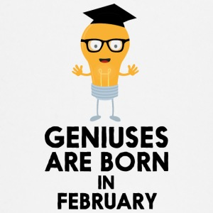 Geniuses are born in FEBRUARY S70bf Baby Long Sleeve Shirts - Baby Long Sleeve T-Shirt