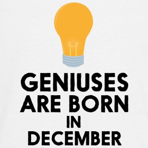 Geniuses are born in DECEMBER Sx57j Long Sleeve Shirts - Teenagers' Premium Longsleeve Shirt