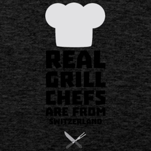 Real Grill Chefs are from Switzerland S0wny Sports wear - Men's Premium Tank Top