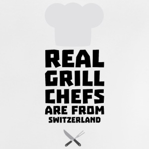 Real Grill Chefs are from Switzerland S0wny Baby Shirts  - Baby T-Shirt