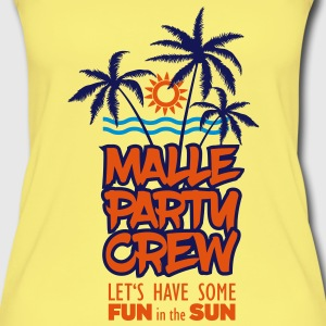 Malle Party Crew - Fun in the Sun Mallorca Tops - Frauen Bio Tank Top