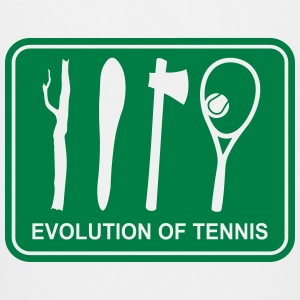Evolution of Tennis   T-Shirts - Teenager Premium T-Shirt