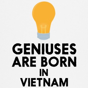 Geniuses are born in VIETNAM S1qha Baby Long Sleeve Shirts - Baby Long Sleeve T-Shirt