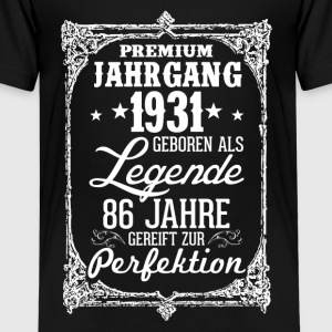 86-1931-legend - perfection - 2017 - DE Shirts - Teenage Premium T-Shirt