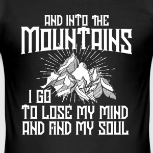 Mountains  T-Shirts - Men's Slim Fit T-Shirt