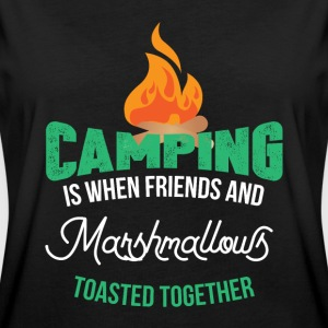 Camping Camper T-shirts - Dame oversize T-shirt