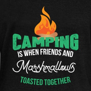 Camping Camper Hoodies & Sweatshirts - Women's Boat Neck Long Sleeve Top
