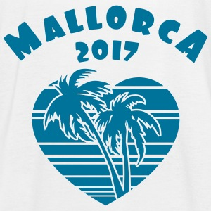 Mallorca 2017 Palm Heart Tops - Frauen Tank Top von Bella