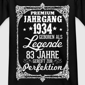 83 1934-legend - perfection - 2017 - DE Shirts - Teenage T-shirt