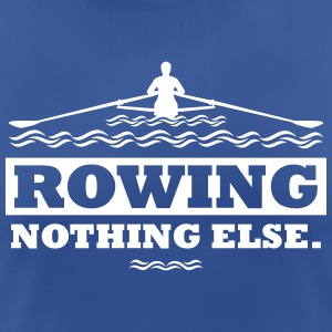 rowing nothing else Rudern Skull Boot Skiff Camisetas - Camiseta mujer transpirable