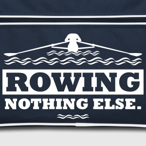 rowing nothing else Rudern Skull Boot Skiff Torby i plecaki - Torba retro