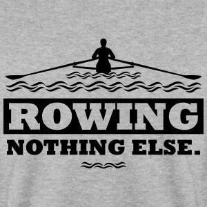 rowing nothing else Rudern Skull Boot Skiff Hoodies & Sweatshirts - Men's Sweatshirt