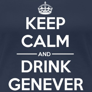 Drinks Keep calm Genever  T-Shirts - Women's Premium T-Shirt