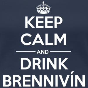 Drink Keep calm Brennivín T-Shirts - Women's Premium T-Shirt