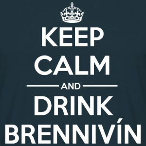 Drink Keep calm Brennivín T-Shirts - Men's T-Shirt
