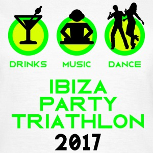 Ibiza Party Triathlon 2017 T-Shirts - Frauen T-Shirt